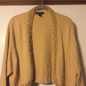 Inc tan angora sweater, 3X